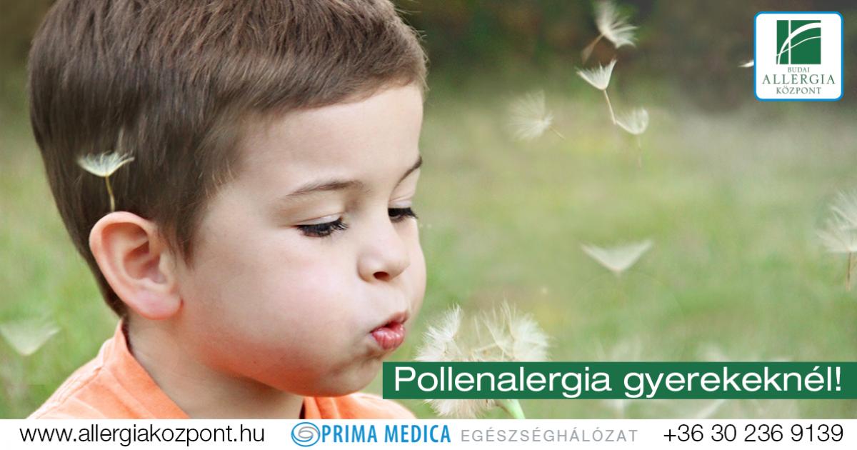 férgek gyermek allergia esetén