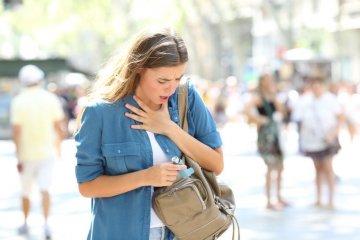 Az allergiás asztma tünetei és kezelése